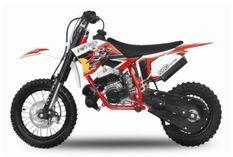 Dirt Bike 50cc NRG KTM 12/10 9cv freins hydrauliques rouge