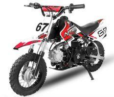 Dirt Bike 70cc Storm Auto 10/10 Rouge