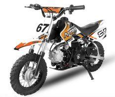 Dirt Bike 90cc Storm Auto 10/10 Orange