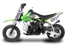Dirt Bike 90cc Storm Auto 10/10 Vert