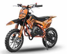 Dirt bike enfant 49cc 10/10 automatique orange