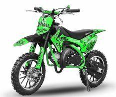 Dirt bike enfant 49cc 10/10 automatique vert