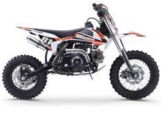 Dirt bike enfant 70cc automatique orange et blanc MX70 12/10