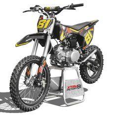 Dirt bike 125cc orange 17/14 manuel 4 vitesses Spyder