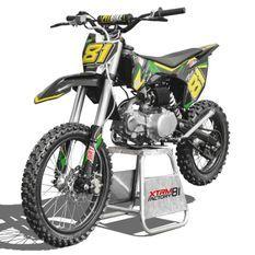 Dirt bike 125cc vert 17/14 manuel 4 vitesses Spyder
