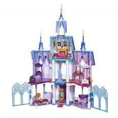 Disney La Reine des Neiges 2 - L'Extraordinaire Château d'Arendelle des poupees Elsa et Anna - 1m50 de haut - 4 étages