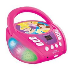 DISNEY PRINCESS - Lecteur CD Bluetooth - Effets Lumineux