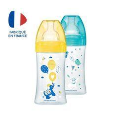 DODIE Coffret x2 Biberons Sensation+ 270 ml - Débit 2 - Lot de 2 Biberons
