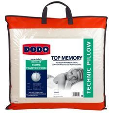 DODO Oreiller TOP MEMORY 60x60cm
