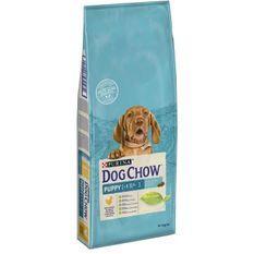 DOG CHOW Croquettes - Au poulet - Pour chiot - 14 kg