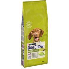 DOG CHOW Croquettes - Avec de l'Agneau - Pour chien adulte - 14 kg
