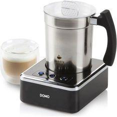 DOMO Mousseur a lait DO717MF Capacité 130 a 230 ml - Gris et noir
