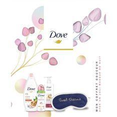 DOVE Coffret Douceur Gel Douche Surgras, Lait Intensif, Déodorant Beauty Finish