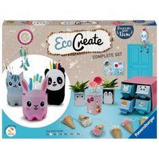 EcoCreate Maxi - Decorate my room / Décore ta chambre - Ravensburger - Loisirs créatifs - Bricolage éco-responsable - Des 6 ans