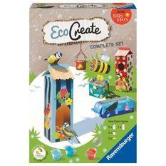 EcoCreate Midi - All for animals / Abris pour animaux - Ravensburger - Loisirs créatifs - Bricolage éco-responsable - Des 6 ans