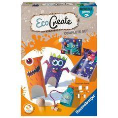 EcoCreate Midi - Monster Games / Jeux d'adresse - Ravensburger - Loisirs créatifs - Bricolage éco-responsable - Des 6 ans