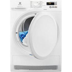 ELECTROLUX - EW7H6812SC - Seche-linge a condensation - Pompe a chaleur - 8 kg - A++ - Blanc