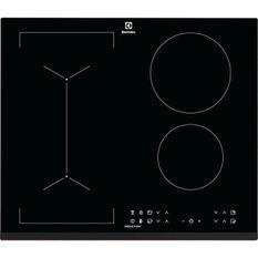 ELECTROLUX LIV6343 - Table de cuisson - 4 foyers - 7350W - Revetement verre - Noir