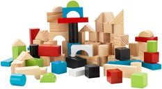 Ensemble blocs bois jeux d'eveil Kidkraft 63242