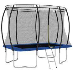 Ensemble de trampoline rectangulaire 274x183x76 cm 150 kg