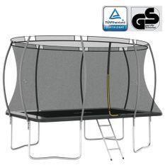 Ensemble de trampoline rectangulaire 335x244x90 cm 150 kg