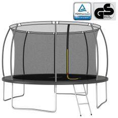 Ensemble de trampoline rond 366x80 cm 150 kg
