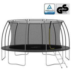 Ensemble de trampoline rond 488x90 cm 150 kg