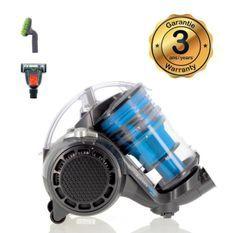 EZIclean Turbo Eco-pets, Aspirateur sans sac multi-cyclonique spécial animaux de compagnie AAA