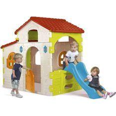 FEBER - 800010721 - Beauty House avec Toboggan - maison pour enfant