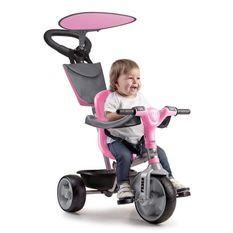 FEBER Tricycle Evolutif Trike Baby Plus Music Rose