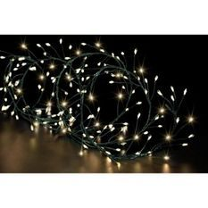 FEERIC LIGHTS & CHRISTMAS BOA extérieur Copper - 400 LED - Fil vert