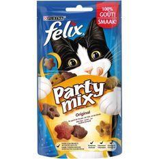 FELIX Party Mix - Original : poulet, foie et dinde - Pour chat - 60 g