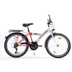FICARIUS Vélo City 24 garcon blanc/ rouge