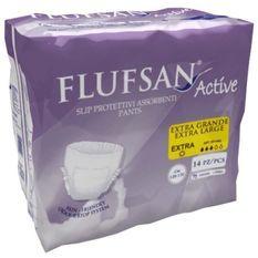 FLUFSAN Culottes absorbantes Active extra-large pour incontinence jour x14