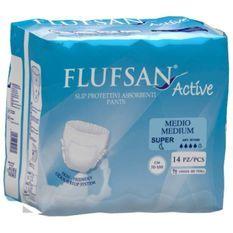 FLUFSAN Culottes absorbantes Active super pour incontinence jour x14