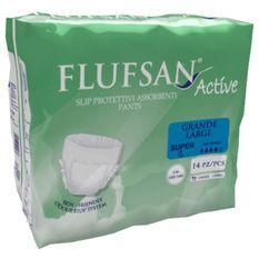 FLUFSAN Culottes absorbantes large pour incontinence nuit x14