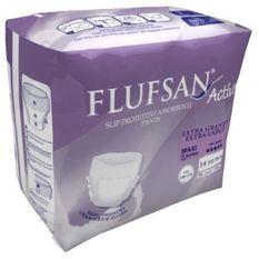 FLUFSAN Culottes super absorbantes extra-large pour incontinence nuit x14