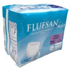FLUFSAN Culottes super absorbantes medium pour incontinence nuit x14