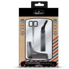 FRANCK PROVOST OP0655 - Kit finition barbe : Tondeuse précision a tete inclinable, Peigne sculptant, Ciseaux