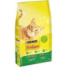 FRISKIES Croquettes - Au lapin, poulet et aux légumes - Pour chat adulte - 7,5 kg