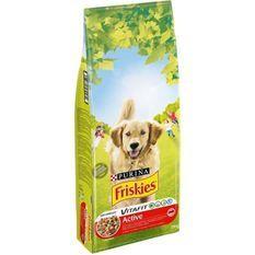FRISKIES CroquettesVitafit Active au boeuf - Pour chien adulte- 18 kg