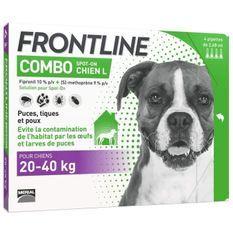 FRONTLINE Combo chien - 20-40kg - 4 pipettes