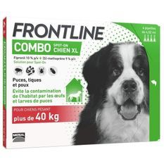 FRONTLINE Combo chien - 40-60kg - 4 pipettes