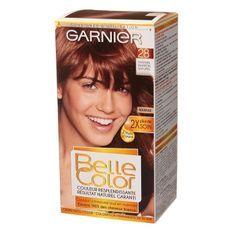 GARNIER Belle Color - Coloration N°28 - Châtain Marron Naturel