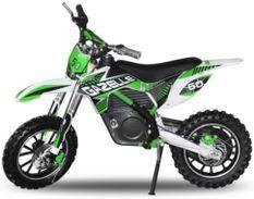 Gazelle 500W vert 10/10 pouces Moto cross électrique