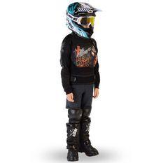 Gilet de protection enfant pour moto et quad orange Xtm factory
