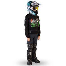 Gilet de protection enfant pour moto et quad vert Xtm factory