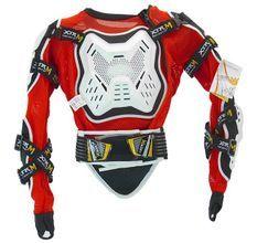 Gilet de protection rigide enfant pour moto et quad XTRM