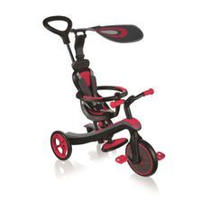 GLOBBER Tricycle 4 en 1 - Rouge