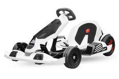 Go Kart enfant 700W lithium 54V blanc et noir Segway